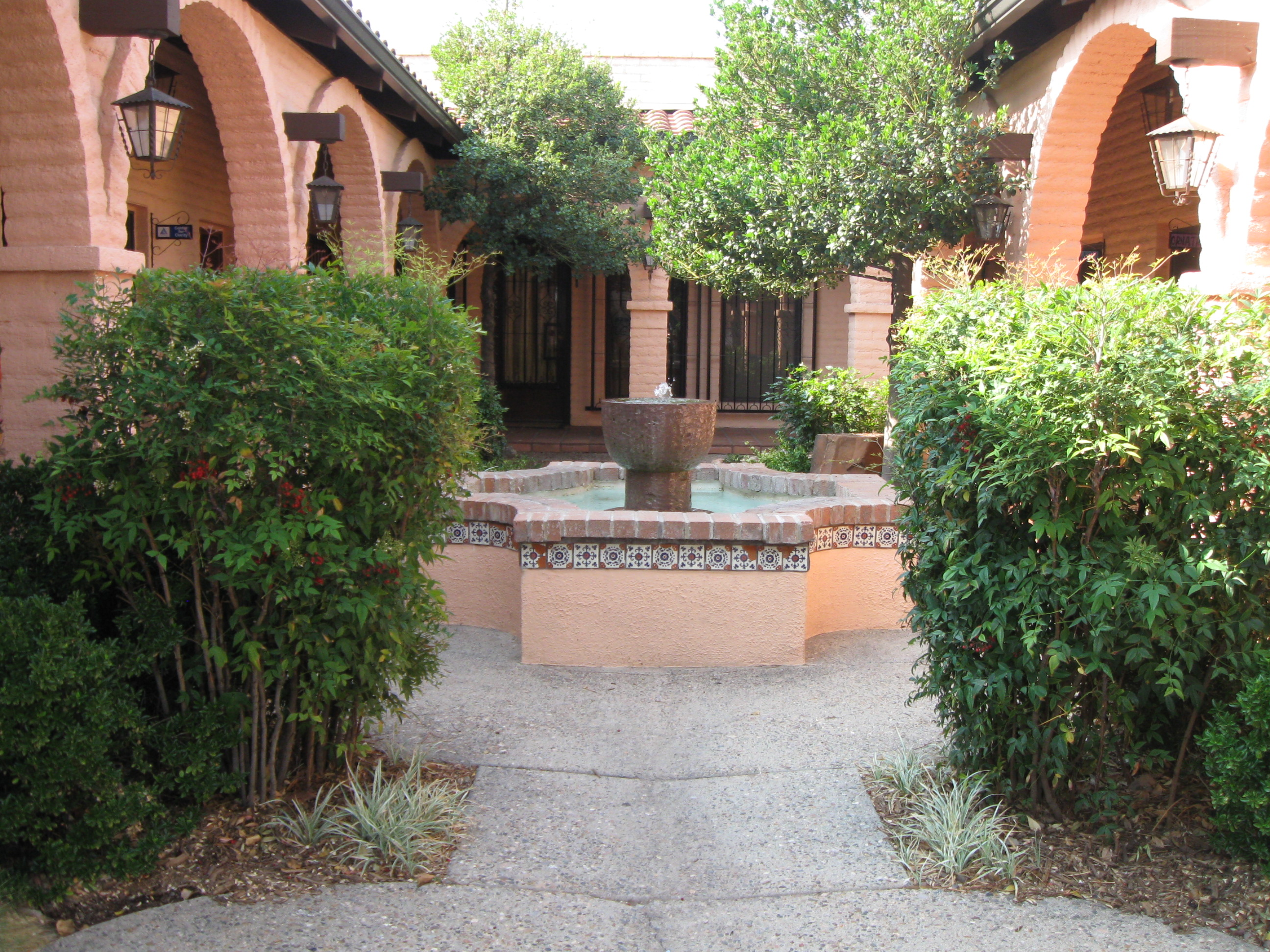 The Courtyard at A Small Art Gallery